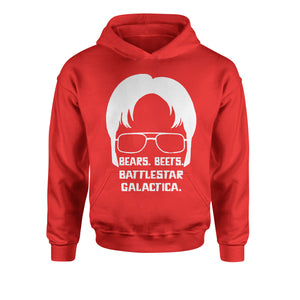 Bears Beets Battlestar Galactica Youth-Sized Hoodie