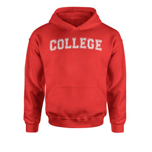 College Belushi Bluto Tribute Youth-Sized Hoodie