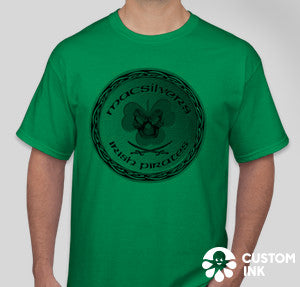 MacSilver's Irish Pirates green short sleeve