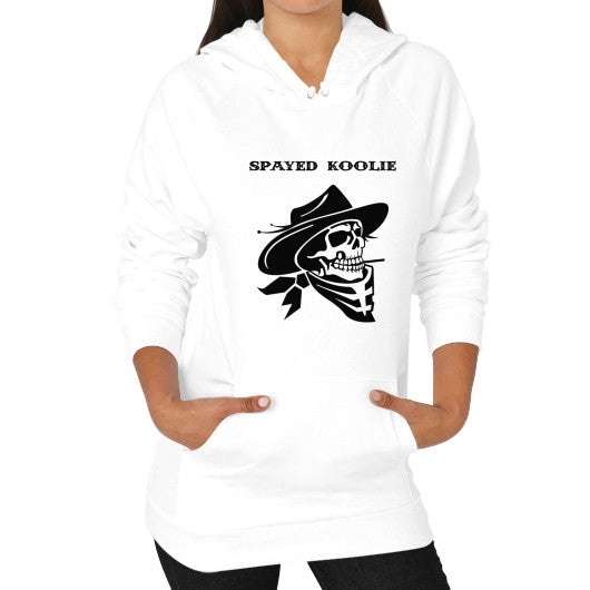 Hoodie (on woman) - Quickdraw Records - 2