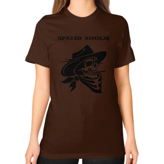 Unisex T-Shirt (on woman) - Quickdraw Records - 5