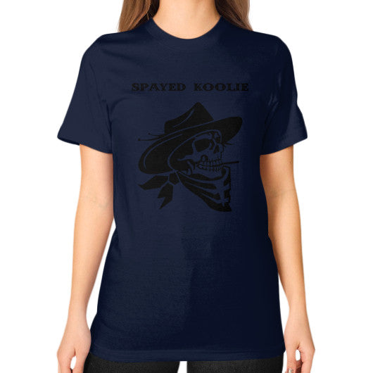 Unisex T-Shirt (on woman) - Quickdraw Records - 10