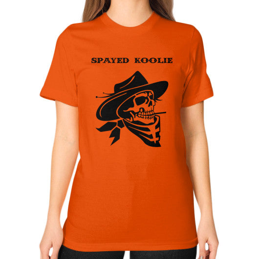 Unisex T-Shirt (on woman) - Quickdraw Records - 11