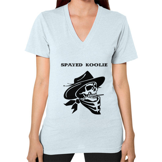 V-Neck (on woman) - Quickdraw Records - 8