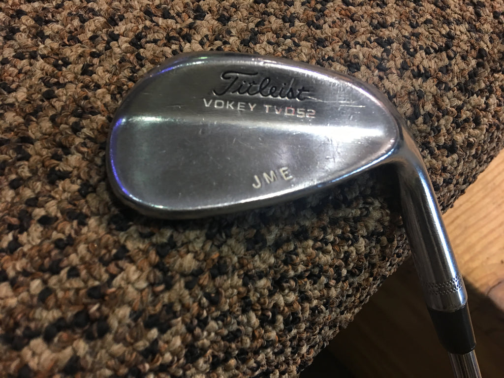 Titleist Vokey Tour Van Design (TVD) 52 M Grind Wedge Tour Chrome KBS RH