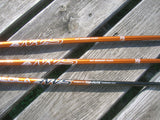 TopFlite Gamer Woods Set 5w 3 & 4 Hybrid Aldila NV Sr Flex Shafts TopFlite Grips