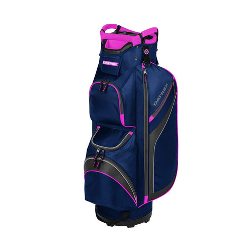 Datrek DG Lite II Cart Bag Navy Pink Silver 15 Way Divider
