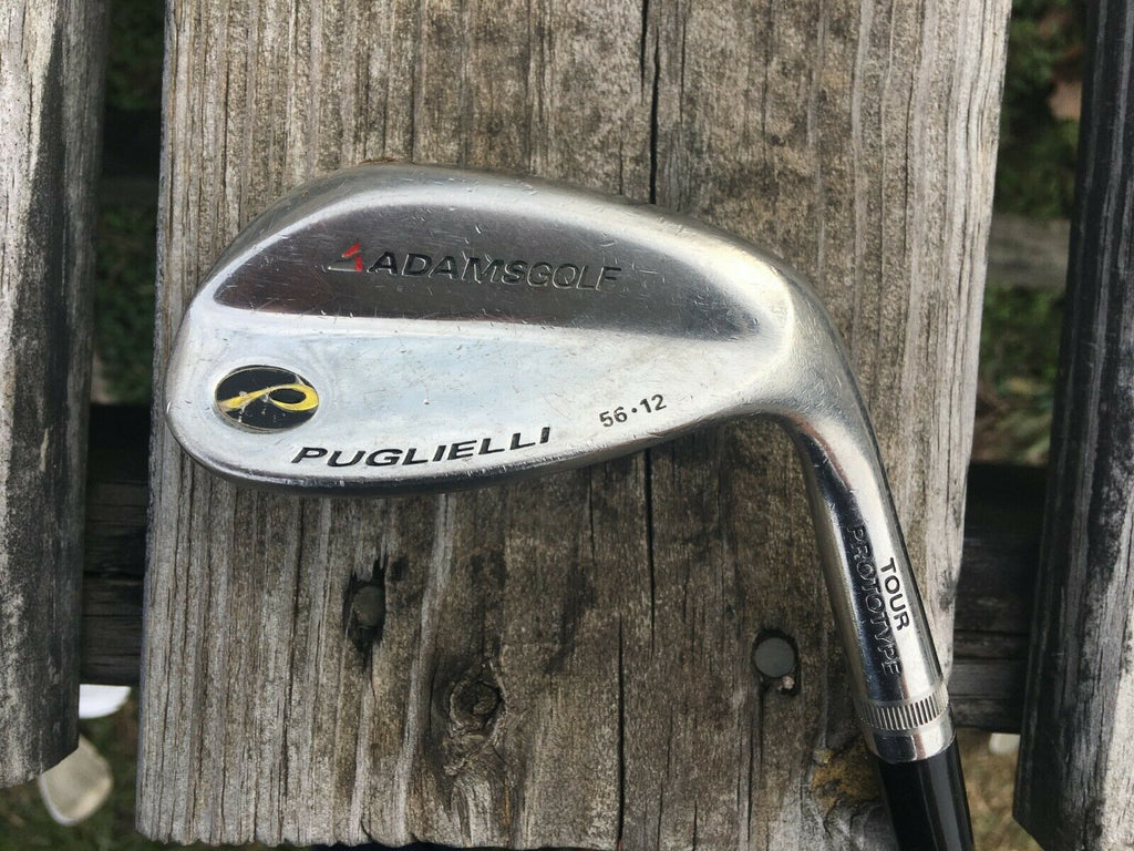 Adams Golf Puglielli 56.12 Tour Prototype Sand Wedge S Flex Steel Shaft