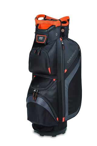 Datrek DG Lite II Cart Bag Black Charcoal Orange 15 Way Divider Top