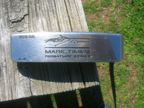 Hot Stix Golf Mark Timms Signature Putter Scotty Cameron Grip Piretti Design