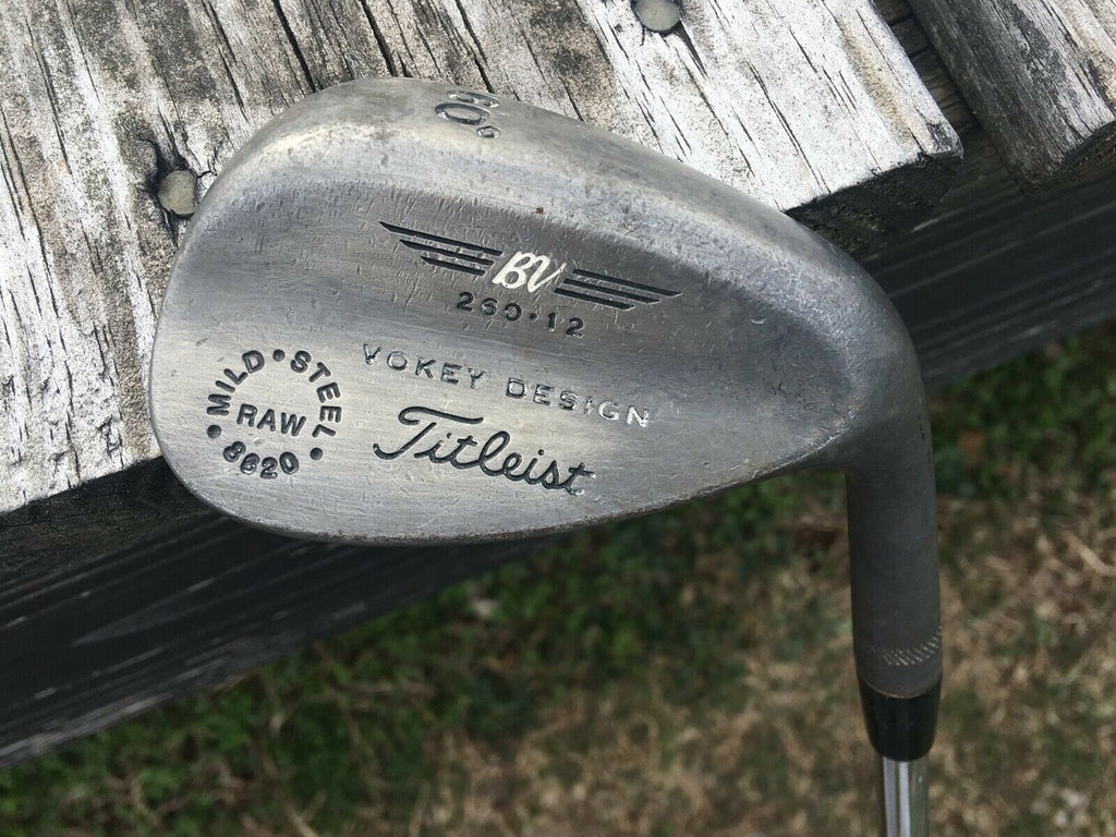 Titleist Vokey 200 Series 60.12 Raw Wedge True Temper Dynamic Gold