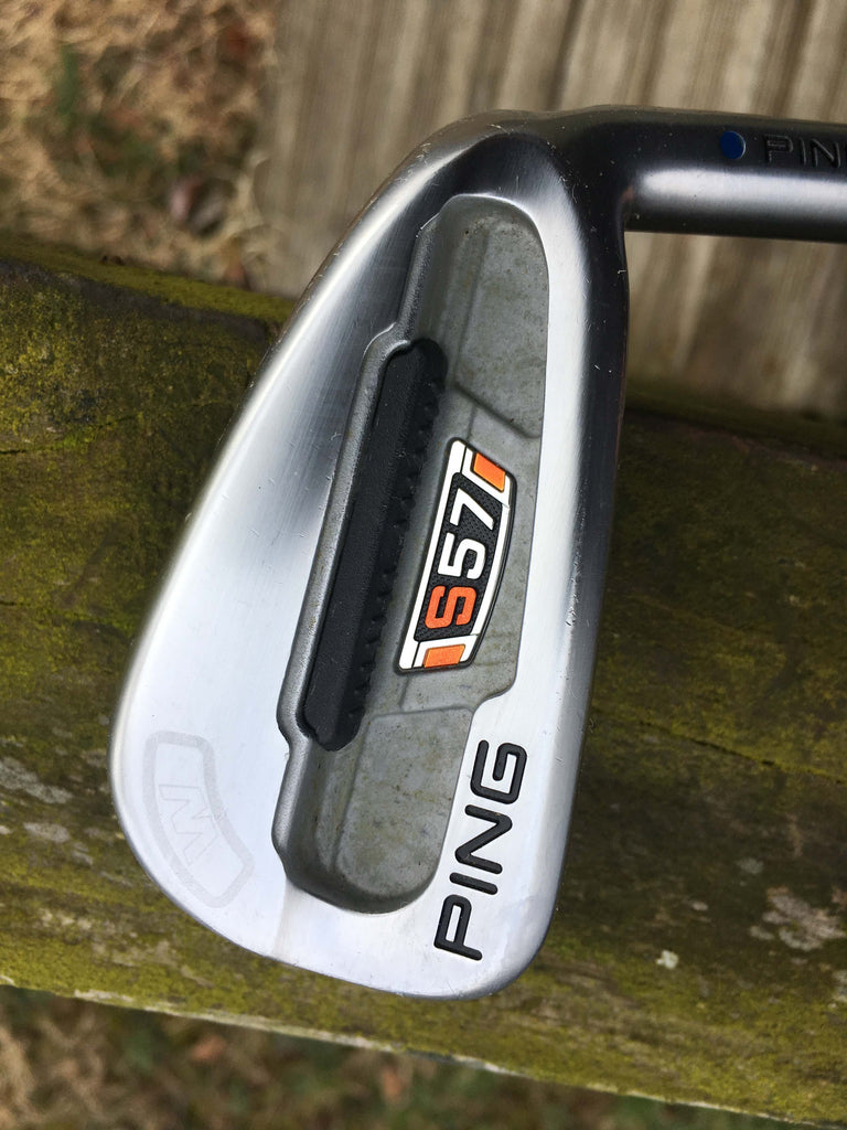 Ping S57 Black Dot 7 Iron X100 Steel Shaft Ping Grip