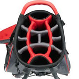 Datrek Go Lite Hybrid Stand Bag Charcoal Red Black 14 Way Divider IDS Top Lock