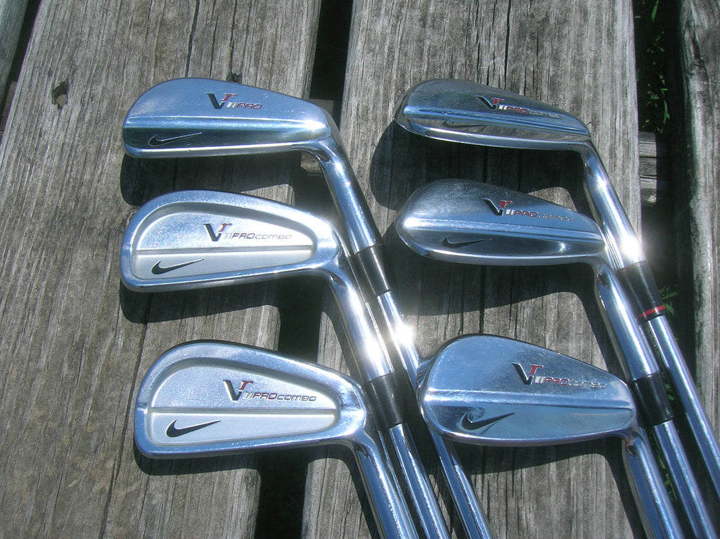 Nike VR Forged Pro Combo Iron Set 5-PW Project X 6.0 S Flex Shafts Iomic 2.3 +5 Grips