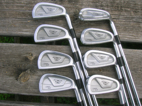Mizuno T Zoid Comp EZ Forged Iron Set 3-PW DG Lite S300 Shafts GP Tour Velvet Grips