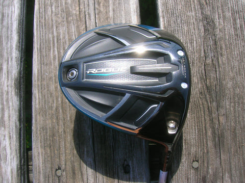 Tour Issue Callaway Rogue 9° Driver Atmos Tour Spec 6S Shaft GP Tour Velvet Grip