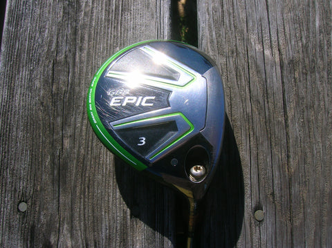 Callaway GBB Epic 15° 3 Wood Speeder 661 Evolution TS R Flex Shaft GP Tour Wrap Grip