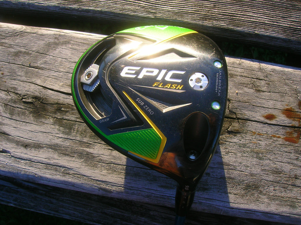 Callaway Epic Flash Sub Zero 9° Driver Evenflow 5.5 R Flex Shaft GolfPride MCC Grip