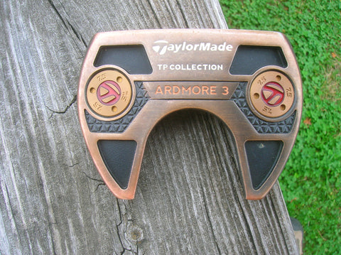 "TaylorMade TP Black Copper Ardmore 3 35"" Putter w/HC Orig Shaft SuperStroke Grip"