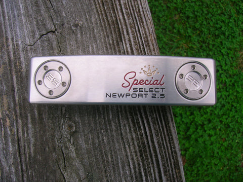 "Titleist Scotty Cameron Special Select Newport 2.5 34"" Putter with Headcover Mint Cond"