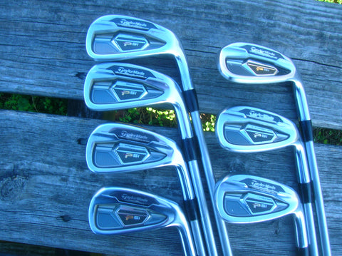 TaylorMade PSi Tour Iron Set 4-PW KBS Tour C Taper 130g S Flex Shafts Tour Velvet Grips