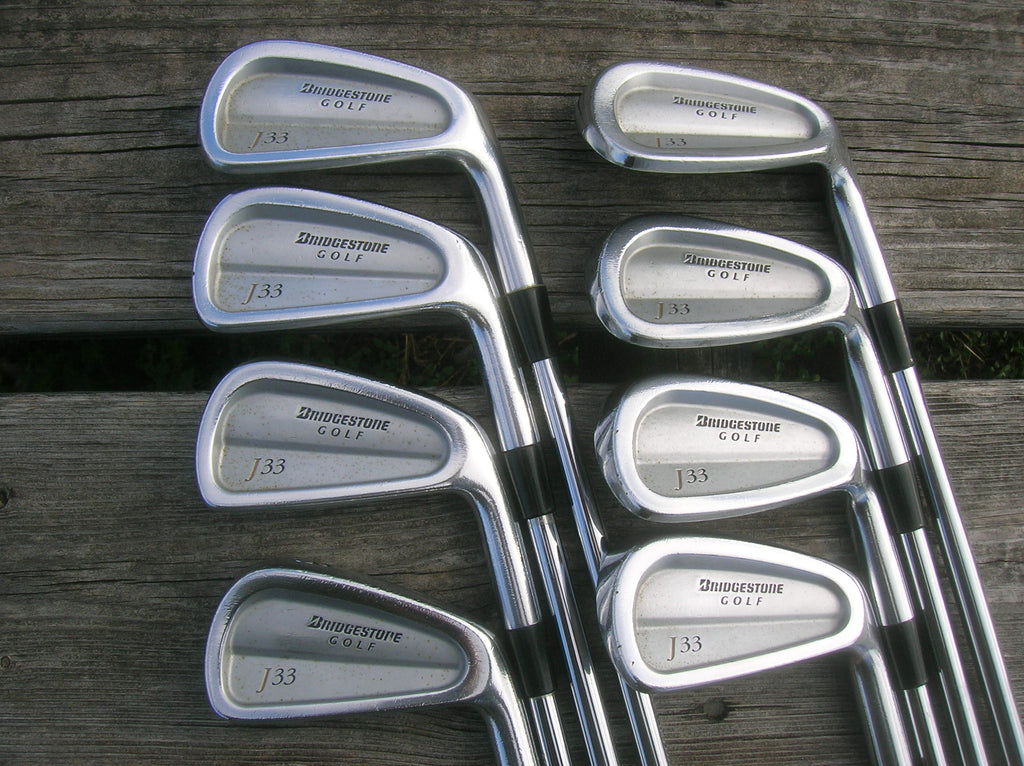 Bridgestone J33 Forged Iron Set 3-PW Dynamic Gold S300 Shafts Lamkin Midsize Grips