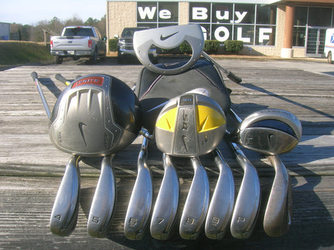 Nike Golf Complete Golf Club Set Men's Right Handed R Flex 12 Clubs Set #122320P01
