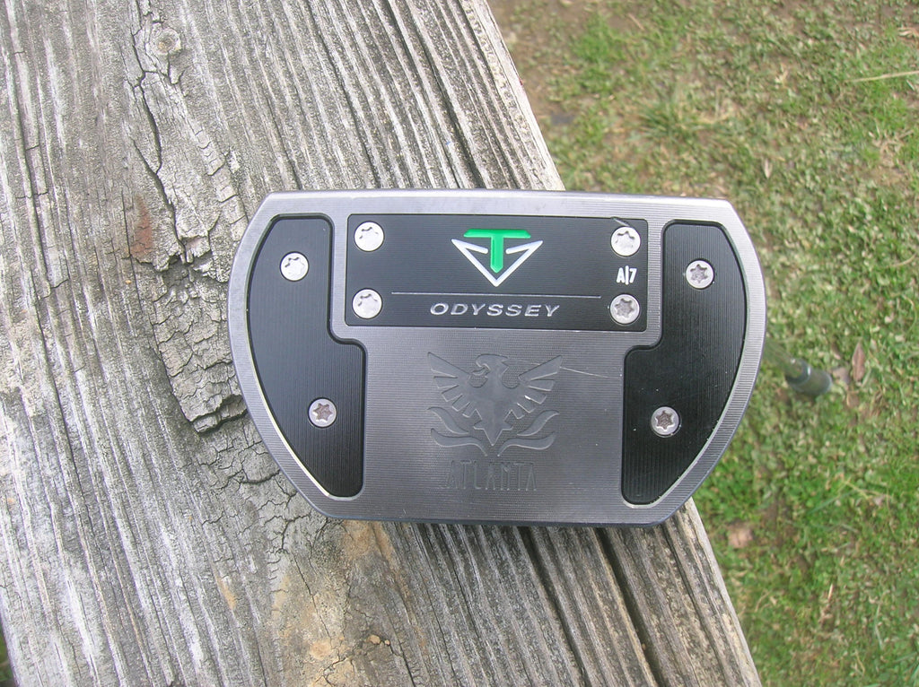 "Odyssey Toulon A7 Atlanta 34.5"" Putter w/HC Orginal Shaft GolfPride Pro Only Grip"