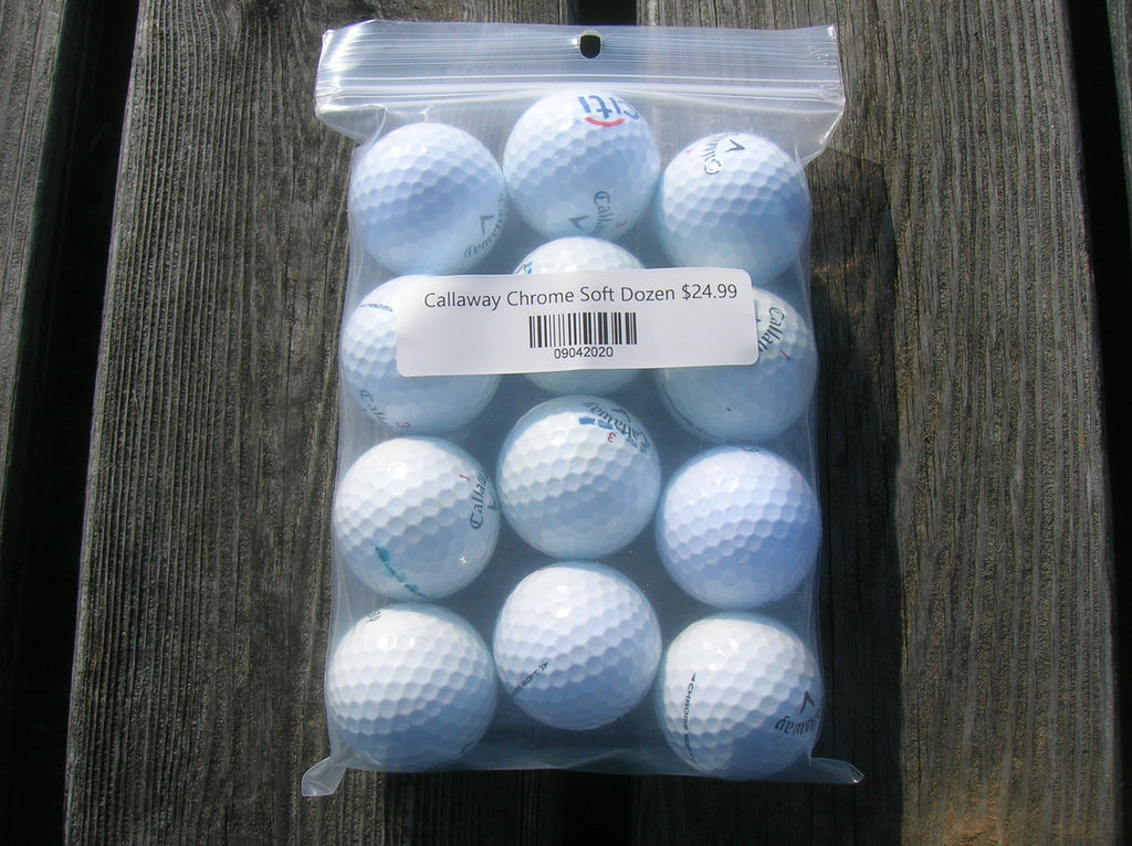 Callaway Chrome Soft 4A Dozen White