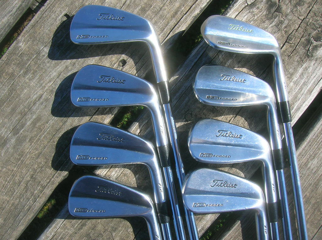 Titleist MB 712 Forged Iron Set 3-PW Dynamic Gold S300 Shafts GolfPride MCC Grips