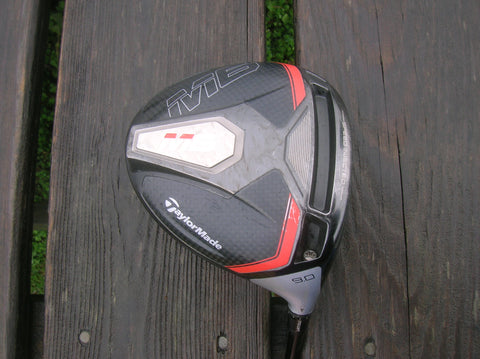 TaylorMade M6 9° Driver Atmos 5 Stiff Flex Shaft TaylorMade Grip Excellent Condition
