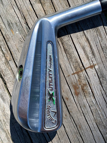 Callaway X Utility Forged Prototype 18° Driving Iron Project X 6.0 Shaft Lamkin Crossline Grip