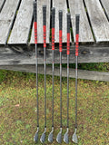 "Adams Idea +1"" Iron Set 5-PW Aldila Senior Flex Shafts GP MCC New Decade Grips"