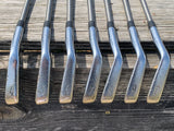 Mizuno MP 37 Iron Set 4-PW Aerotech 110cw Stiff Flex Shaft Iomic Grips