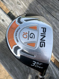 Ping G10 Draw 15.5° 3 Wood TFC129F Regular Flex Shaft Ping Grip