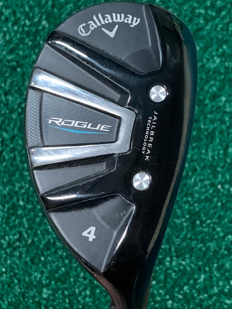 Callaway Rogue 21° 4 Hybrid Synergy S Flex Shaft Callaway Grip