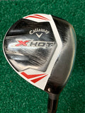 Callaway X Hot 21° 7 Wood Project X A Flex Graphite Shaft Winn DriTac Grip