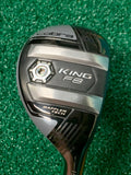 Cobra King F8 19° 3 Hybrid Rogue Pro A-75 A-Flex Shaft Winn Dri Tac Midsize Grip