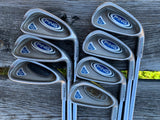 "Ping G5 Green Dot Iron Set 4-PW +1/2"" Ping S Flex Shaft Ping Grip"