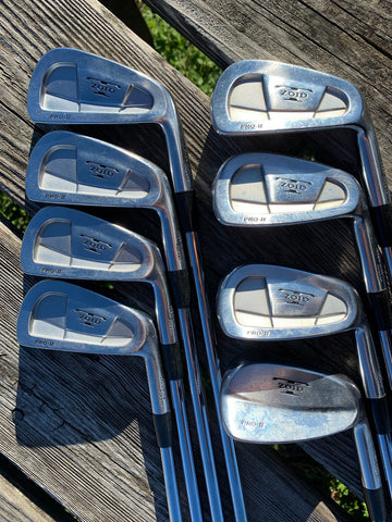 Mizuno T-Zoid Pro II Iron Set 3-PW Tru Temper Dynamic Gold S Flex Shafts