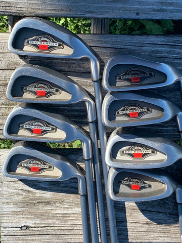 Callaway Big Bertha 1994 Iron Set 3-PW RCH 90 R Flex Shafts Callaway ERC Grips