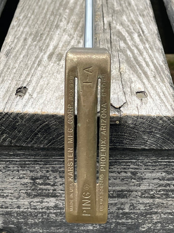 "Ping 1 A Karsten 35.5"" Putter Ping Shaft Premio Grip"