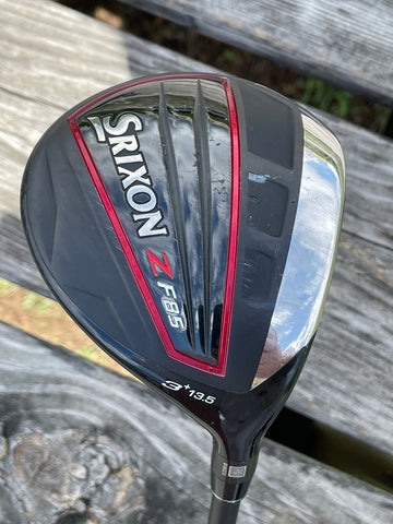 Srixon ZF85 13.5° 3 Wood Hzrdus Stiff Flex Shaft Golf Pride Z Grip