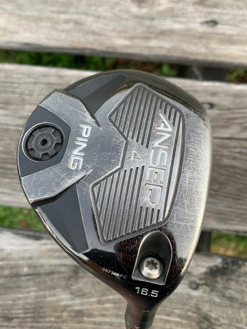Ping Anser 16.5° 4 Wood Ping Anser X Flex Shaft Golf Pride MCC Grip