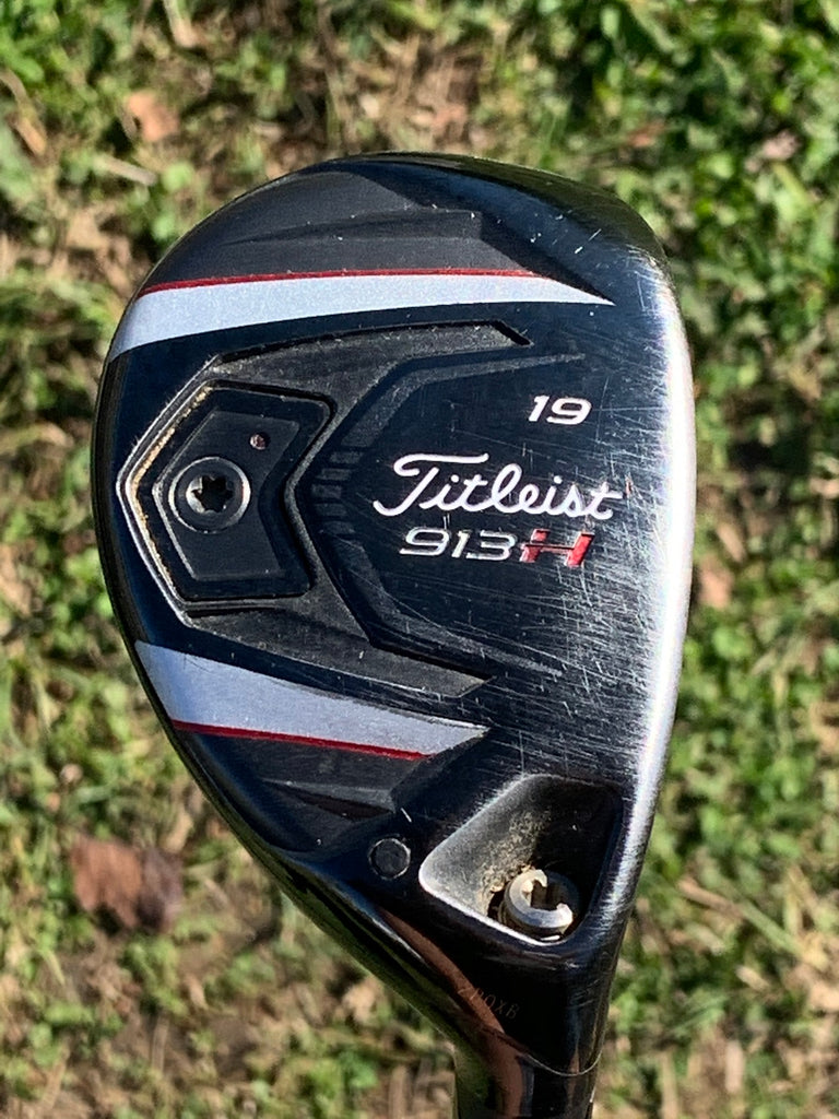 Titleist 913H 19° 3 Hybrid Bassara 60HYB R Flex Shaft Titleist Grip