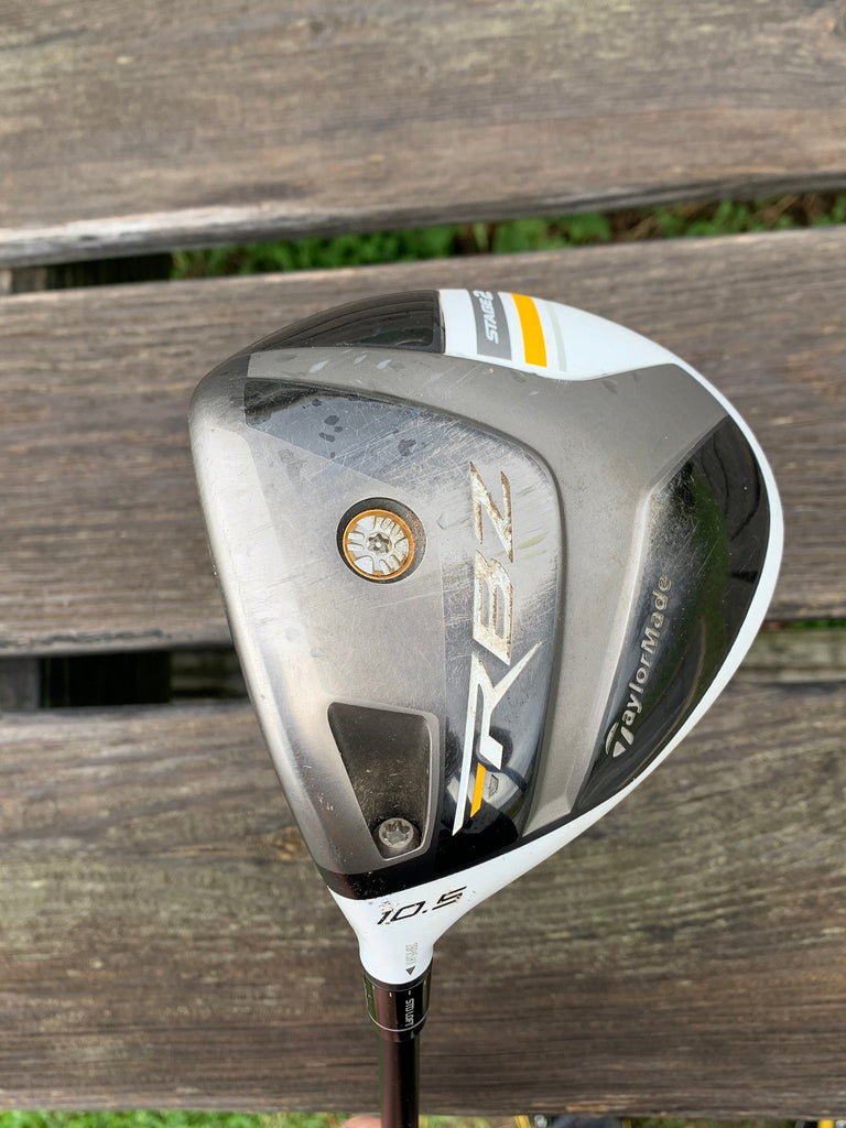 TaylorMade LH RBZ Stage 2 10.5° Driver M Flex 50g Rocket Fuel Shaft TM FCT Grip