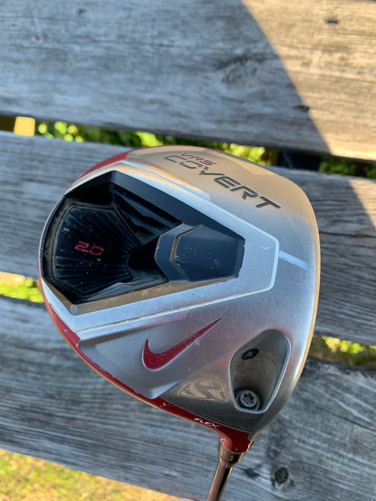 Nike Covert 2.0 Adjustable Loft 8.5°-12.5° Driver Aldila VX Shaft GP Tour Wrap Grip