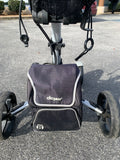 Clicgear Model 8 4 Wheel Push Cart w Umbrella Stand, Hand Brake and Cooler Bag Exellent Condition