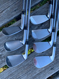 TaylorMade 300 Iron Set 4-PW Dynamic Gold R300 Shafts TM Golf Pride Grips