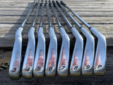 TaylorMade RAC LT 2005 Iron Set 3-PW TM T Step Stiff Flex Shafts TM Grips